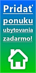 Pridajte si zadarmo ponuku ubytovania na BestUbytovanie.sk!